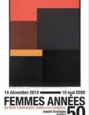 Prochainement au musée Soulages : FEMMES ANNEES 50. AU FIL DE L'ABSTRACTION, PEINTURE ET SCULPTURE