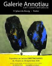 Exposition Christine Barres à la Galerie Annotiau
