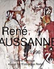 Exposition : René Caussanel, à la galerie Réplique